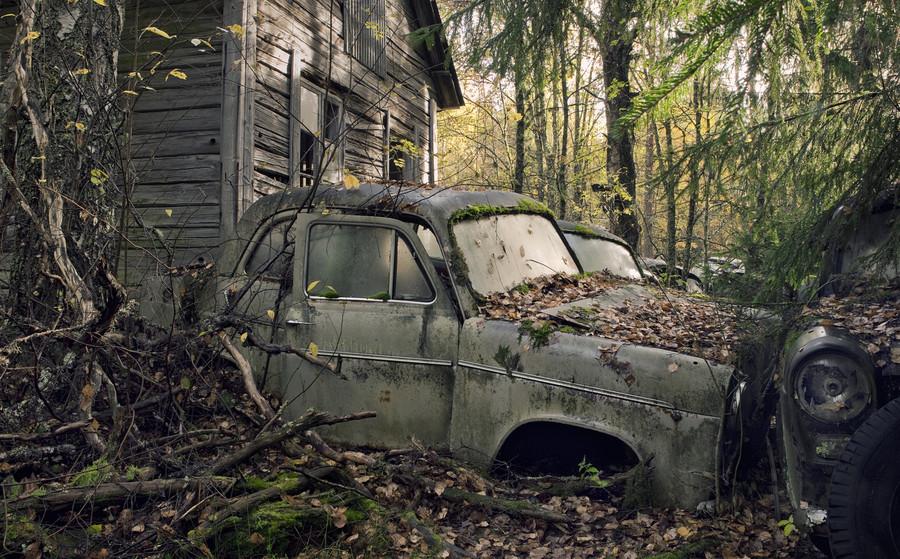Заброшенные места, от которых мурашки по коже - 30 фотографий - 28