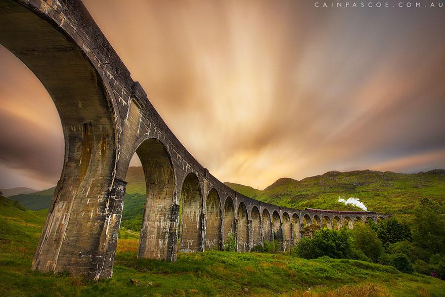 Мост Гленфиннан, Шотландия.