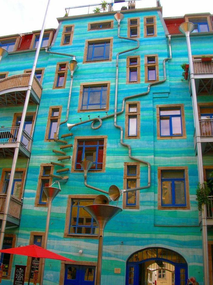 Самые красочные здания в мире - 29 фотографий - 1