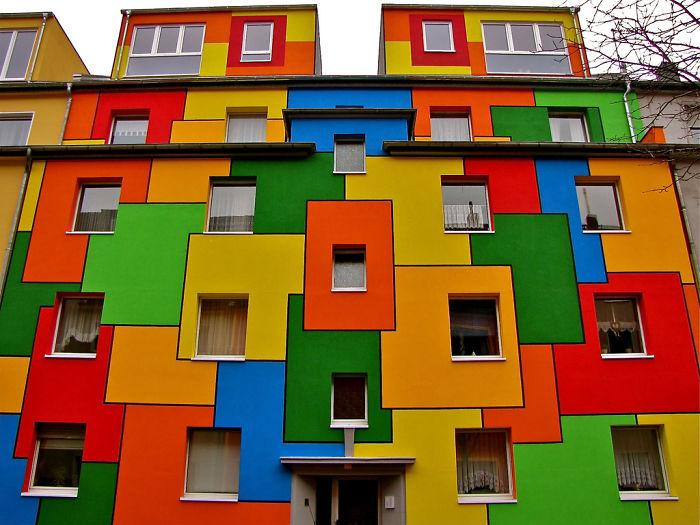 Самые красочные здания в мире - 29 фотографий - 14
