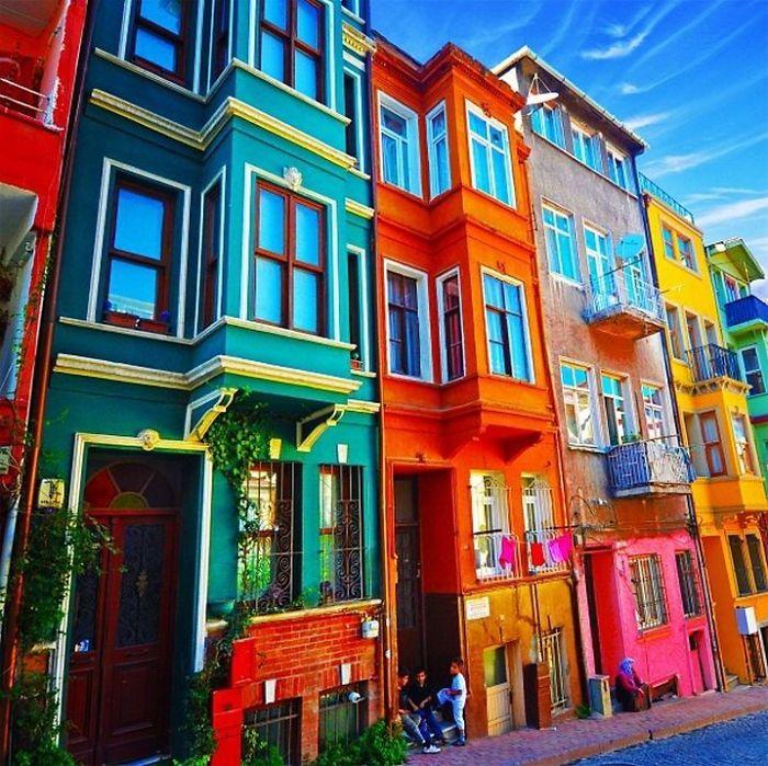 Самые красочные здания в мире - 29 фотографий - 2