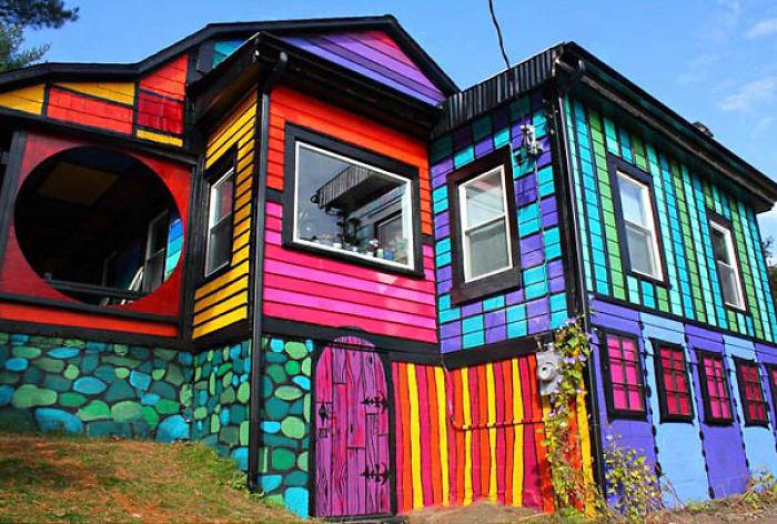 Самые красочные здания в мире - 29 фотографий - 8