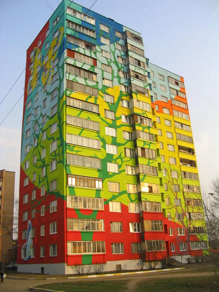 Самые красочные здания в мире - 29 фотографий - 9