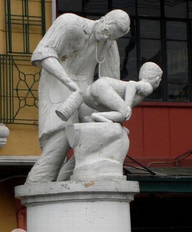 «Сбор детского кала» на Филиппинах.