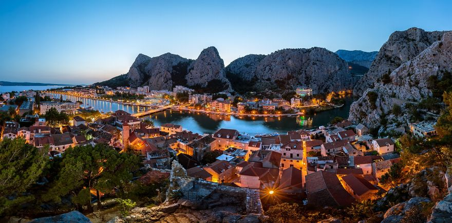 Омиш, Хорватия