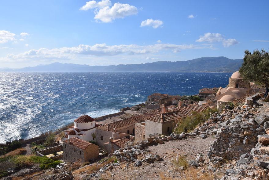 Монемвазия, Греция