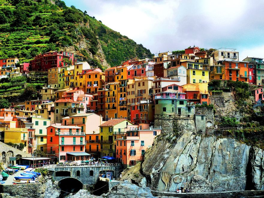 Верназза, Италия