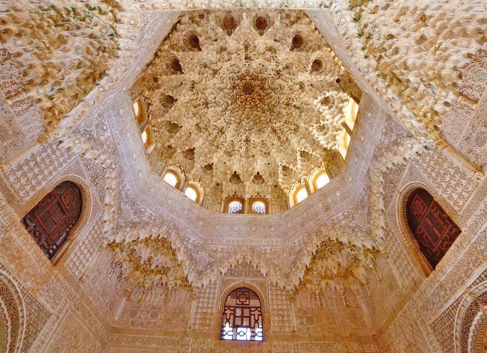 Зал двух сестёр, Альгамбра,