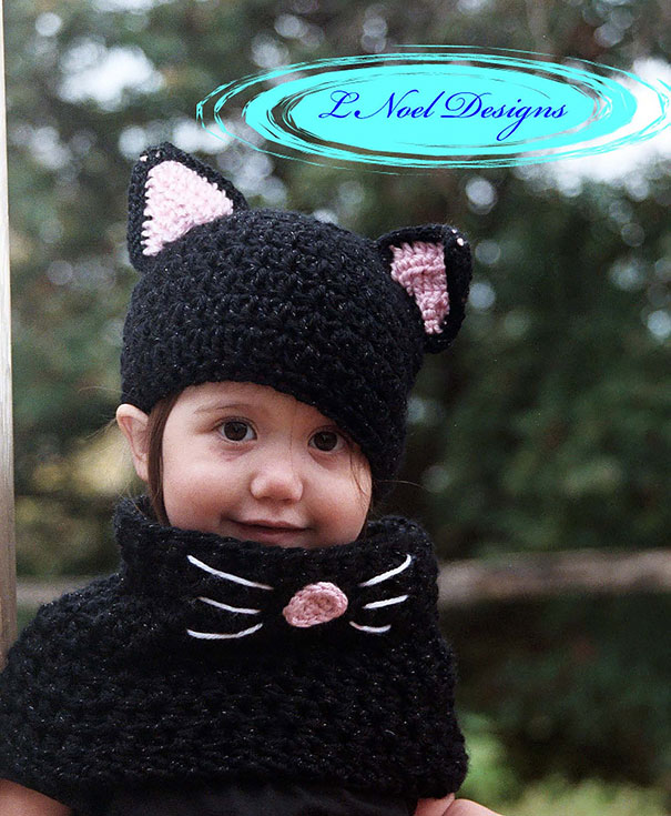 Шапка-кошка