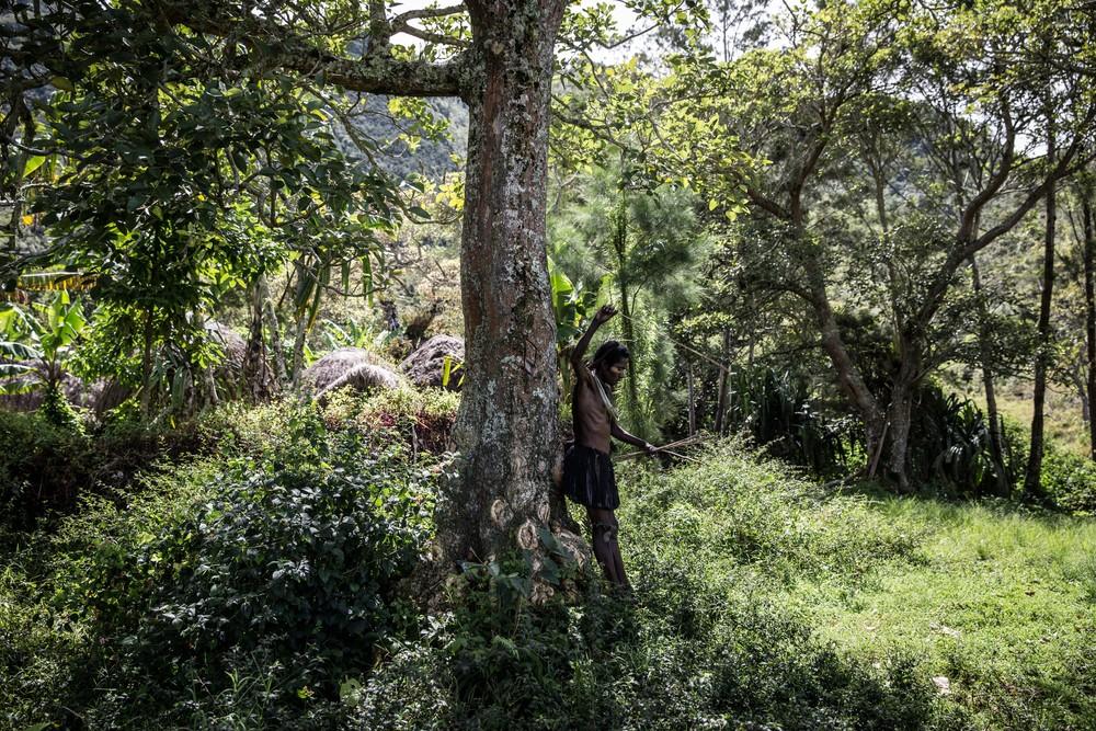 Племена папуасов - фоторепортаж из долины Балием - 1