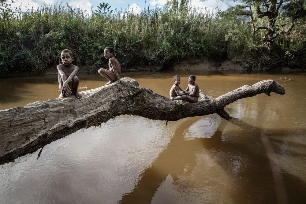 Племена папуасов - фоторепортаж из долины Балием - 12
