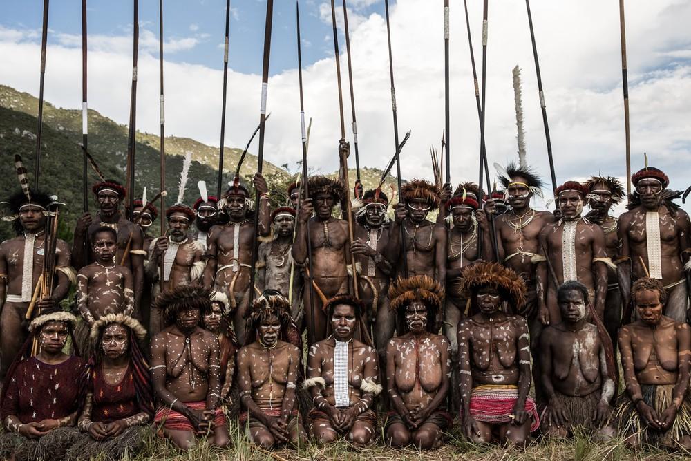 Племена папуасов - фоторепортаж из долины Балием - 13