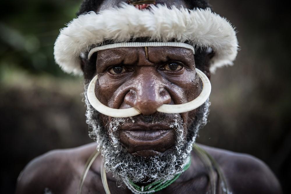 Племена папуасов - фоторепортаж из долины Балием - 14