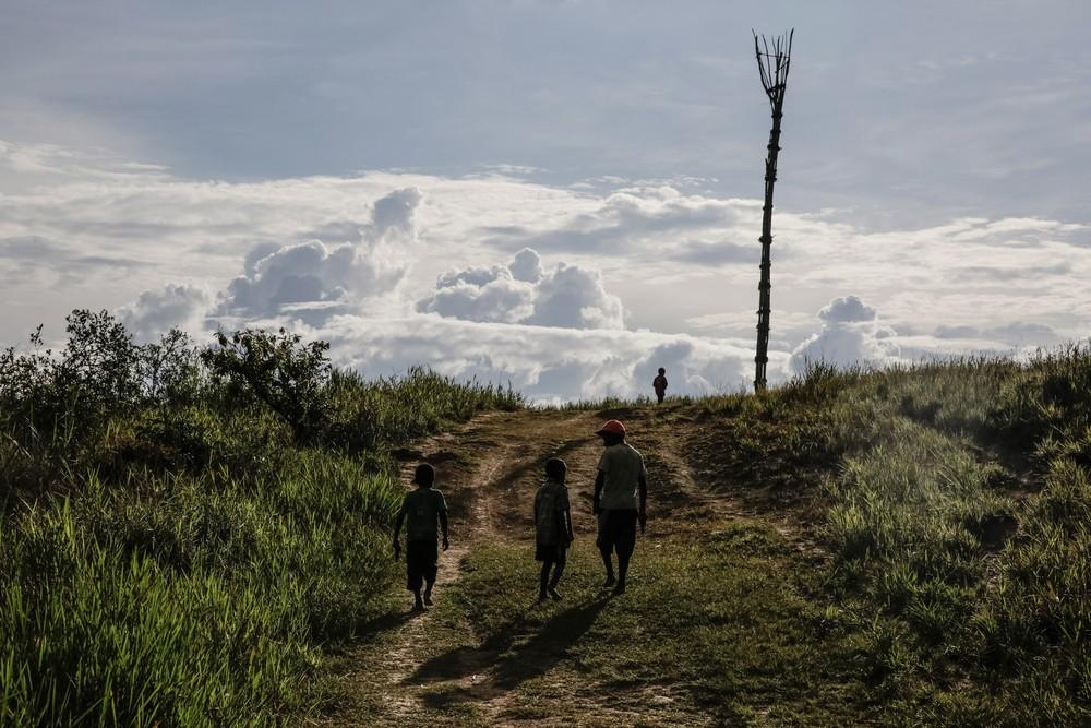 Племена папуасов - фоторепортаж из долины Балием - 16