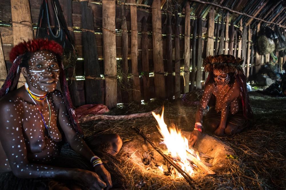 Племена папуасов - фоторепортаж из долины Балием - 2