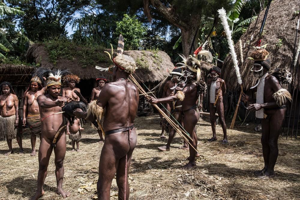 Племена папуасов - фоторепортаж из долины Балием - 3