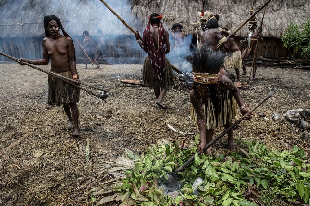 Племена папуасов - фоторепортаж из долины Балием - 4
