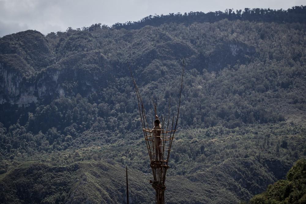 Племена папуасов - фоторепортаж из долины Балием - 9