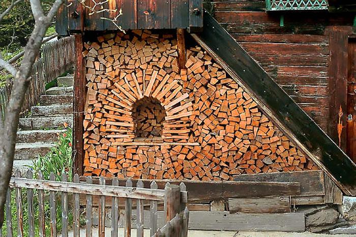 Укладка дров - это искусство!-12