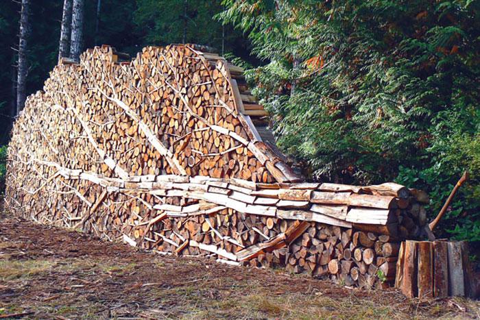 Укладка дров - это искусство!-2