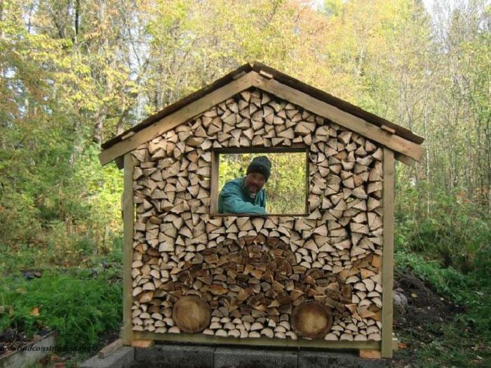 Укладка дров - это искусство!-10