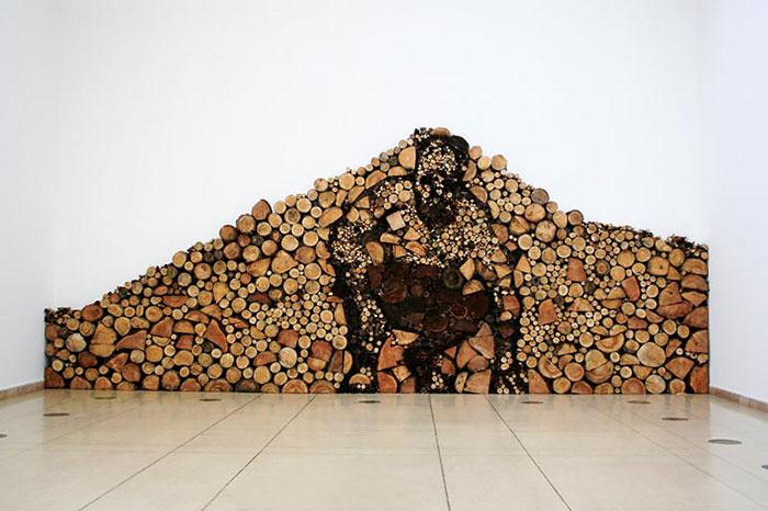Укладка дров - это искусство!-9