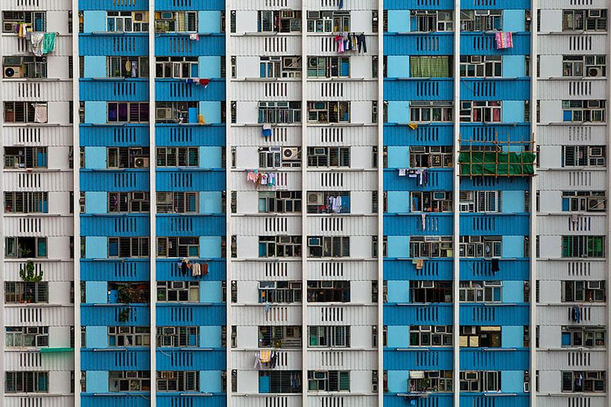 Красота в архитектурной монотонности Гонконга. Фотограф Питер Стюарт-11