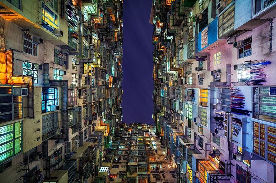 Красота в архитектурной монотонности Гонконга. Фотограф Питер Стюарт-1