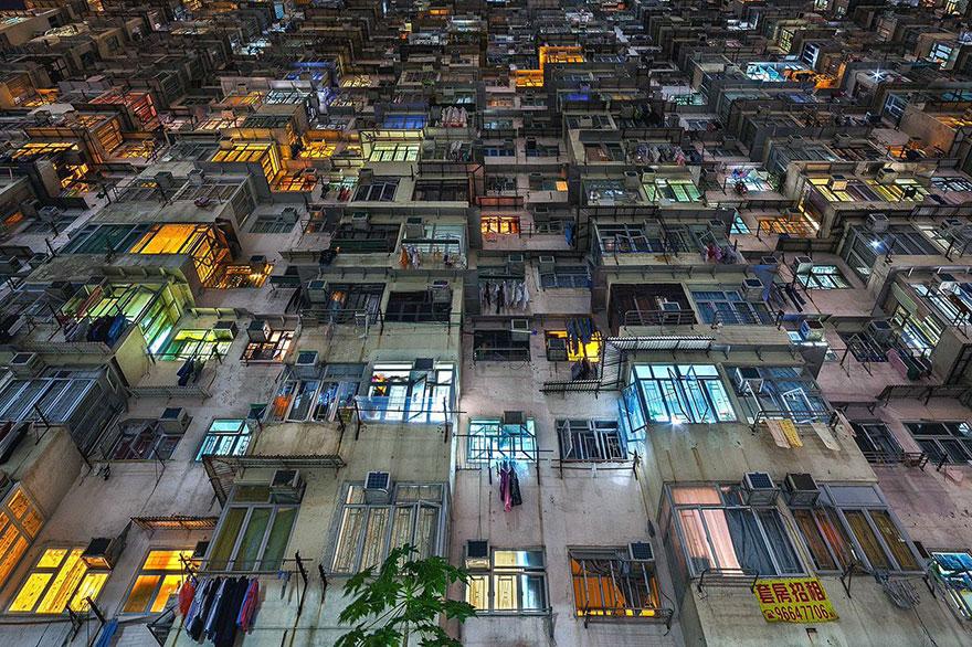 Красота в архитектурной монотонности Гонконга. Фотограф Питер Стюарт-2