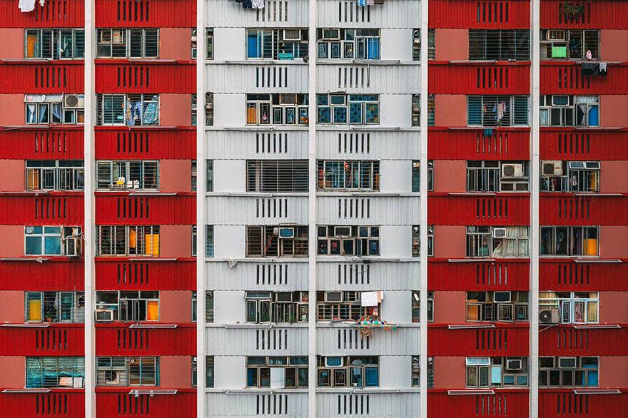 Красота в архитектурной монотонности Гонконга. Фотограф Питер Стюарт-12