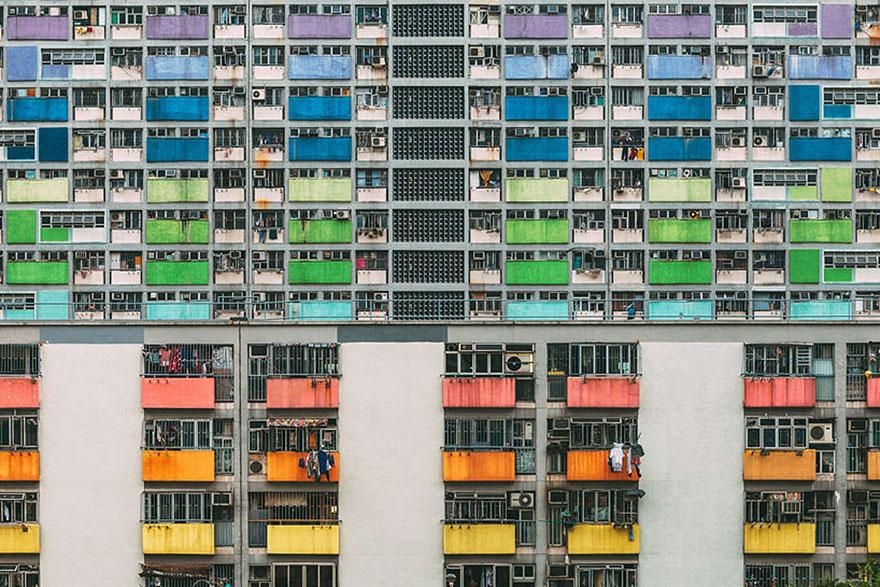 Красота в архитектурной монотонности Гонконга. Фотограф Питер Стюарт-10