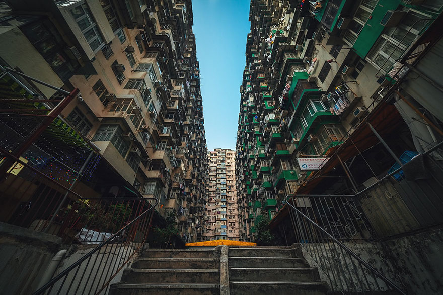 Красота в архитектурной монотонности Гонконга. Фотограф Питер Стюарт-5