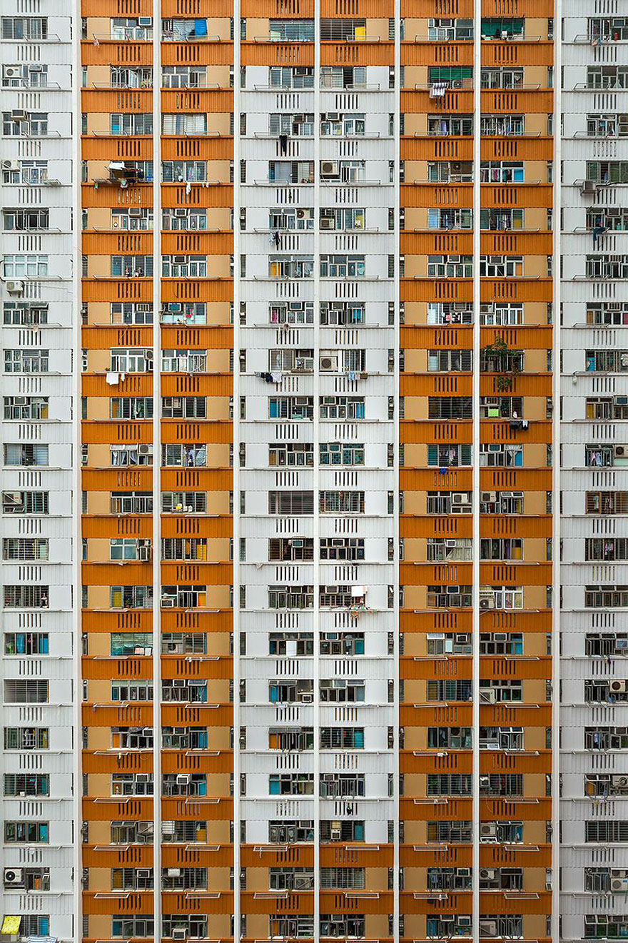 Красота в архитектурной монотонности Гонконга. Фотограф Питер Стюарт-13