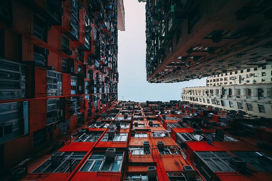 Красота в архитектурной монотонности Гонконга. Фотограф Питер Стюарт-3