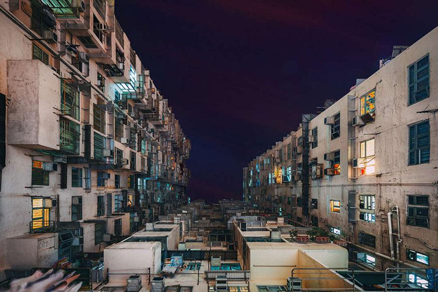 Красота в архитектурной монотонности Гонконга. Фотограф Питер Стюарт-4