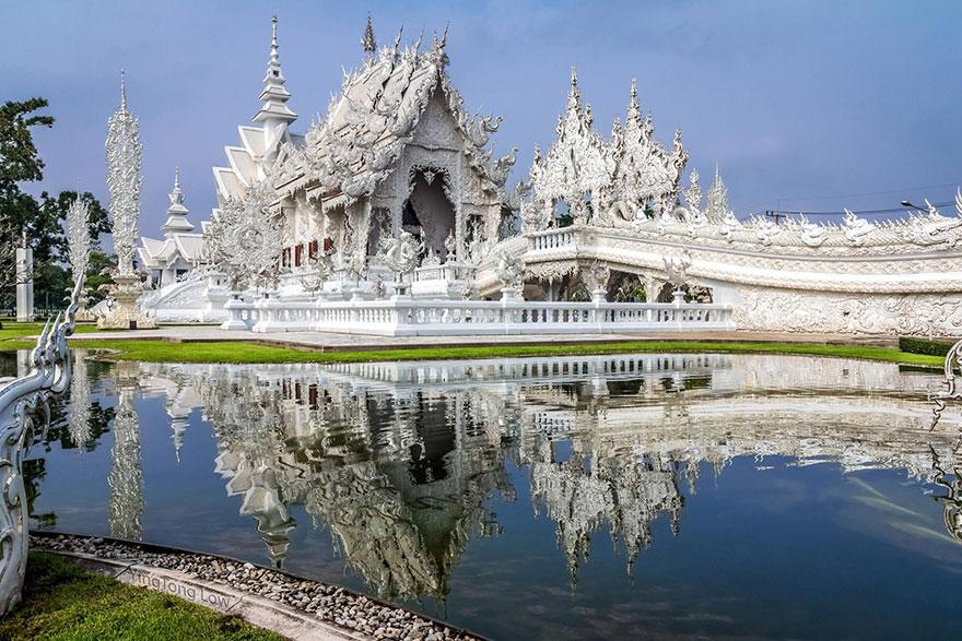 Белый храм в Таиланде-32