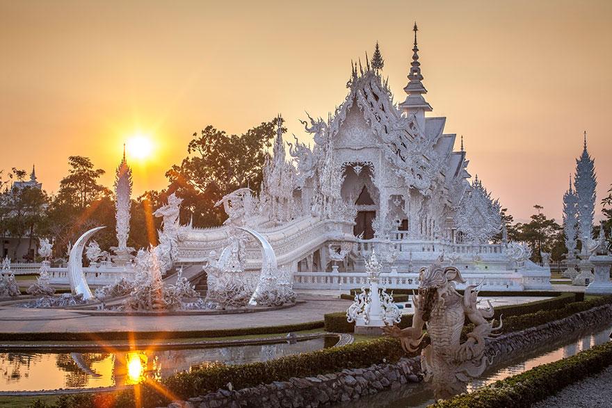 Белый храм в Таиланде-4