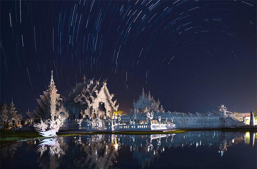 Белый храм в Таиланде-23