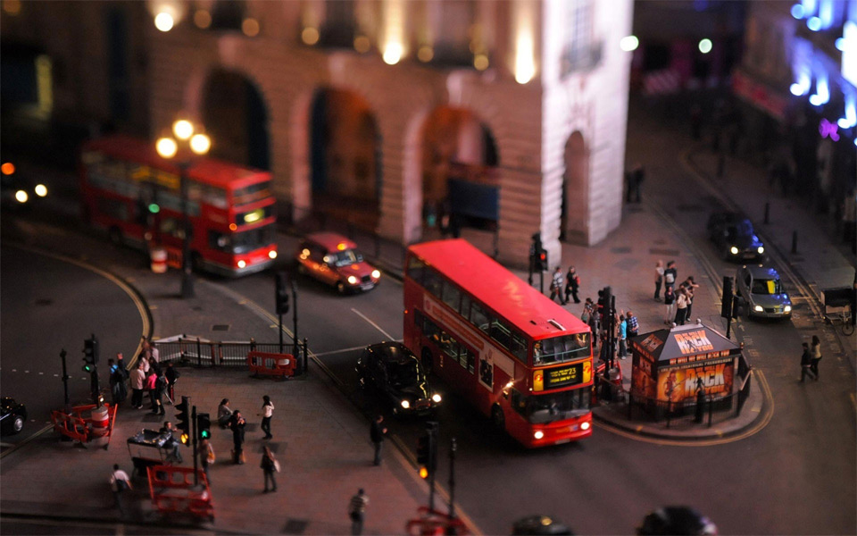 london-tilt-shift