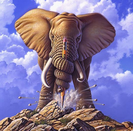 Многогранные иллюстрации Джерри Лофаро-15