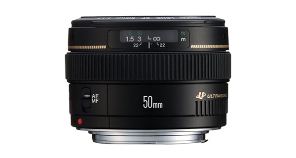 Canon 50mm f14 lens