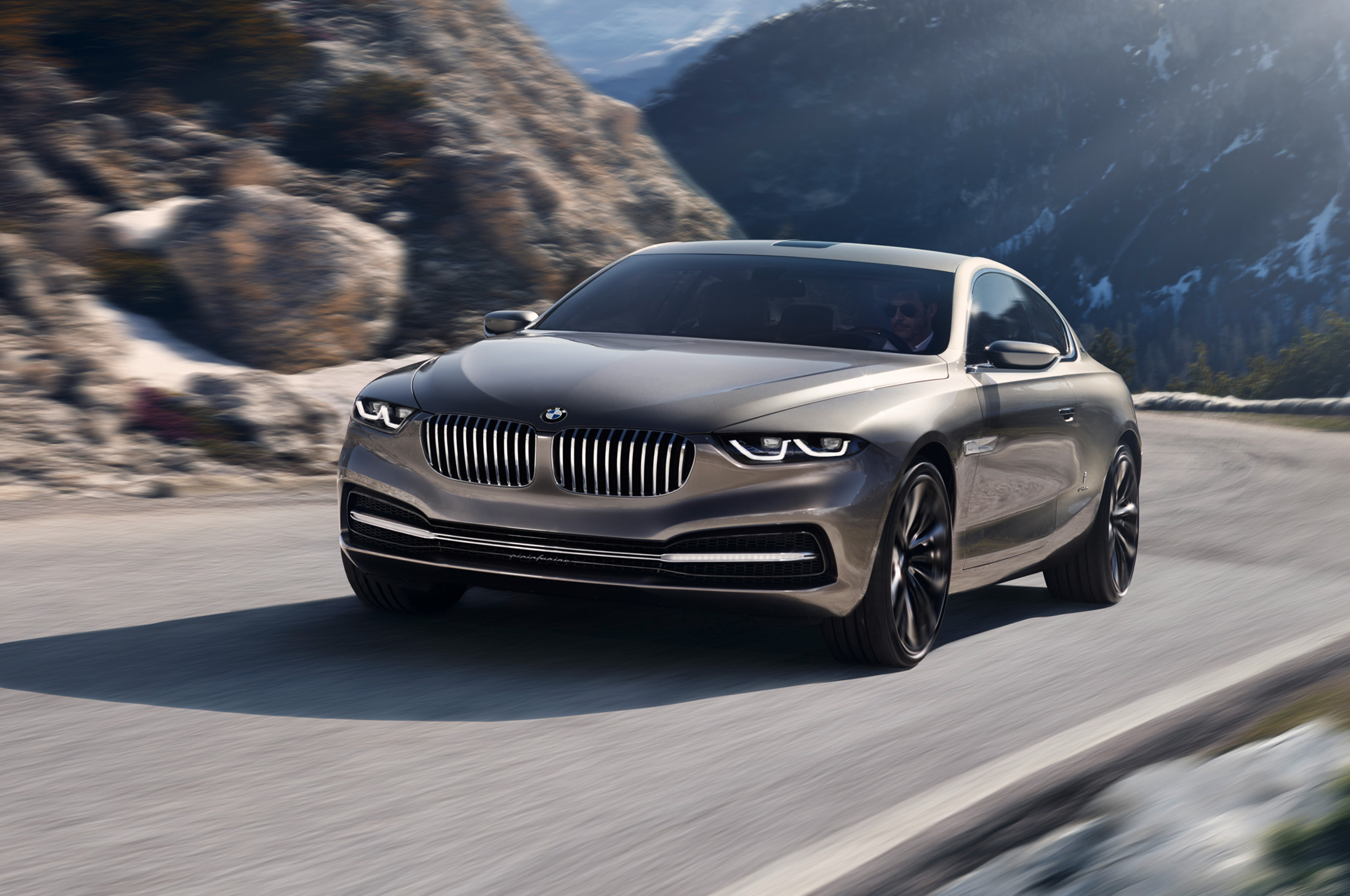 BMW-Pininfarina-Gran-Lusso-Coupe-concept-front-three-quarters-view-in-corner