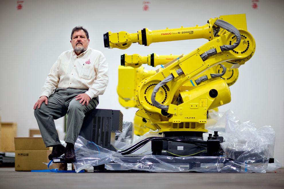 Своими руками робот в промышленности