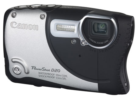 powershot d20 front angle 450