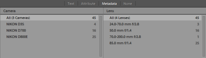 Lightroom-Filter-Bar