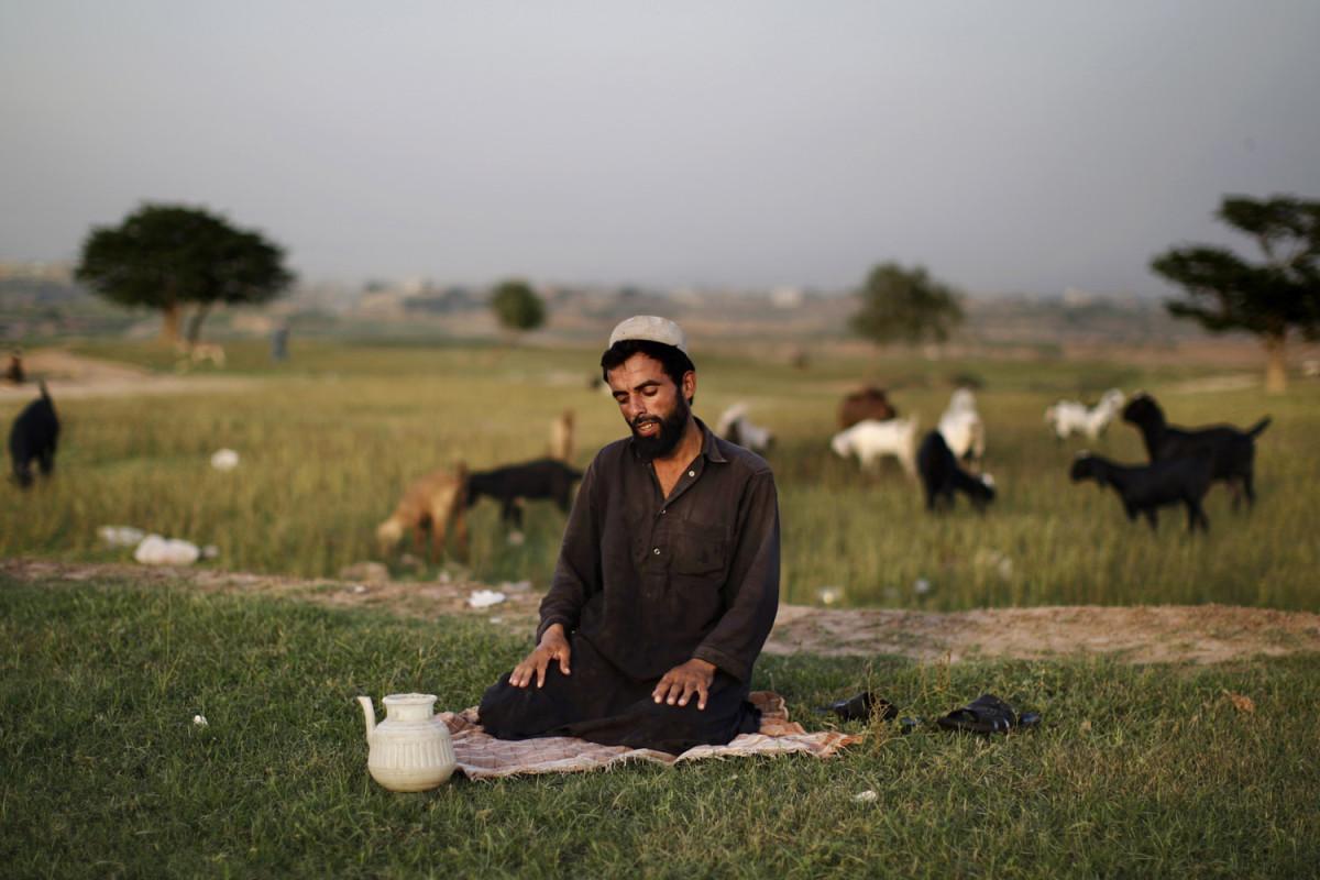 """Фотограф Мухаммед Мухейсен (Muhammed Muheisen): """"Даже в разгар конфликта жизнь продолжается."""