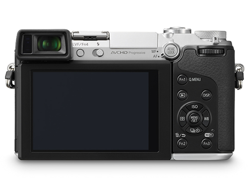 Panasonic-Lumix-GX7-Silver-Rear