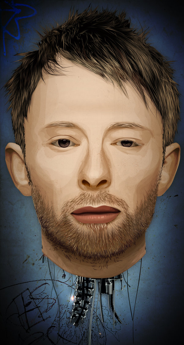 13-Thom Yorke the Android by fat jedgfx