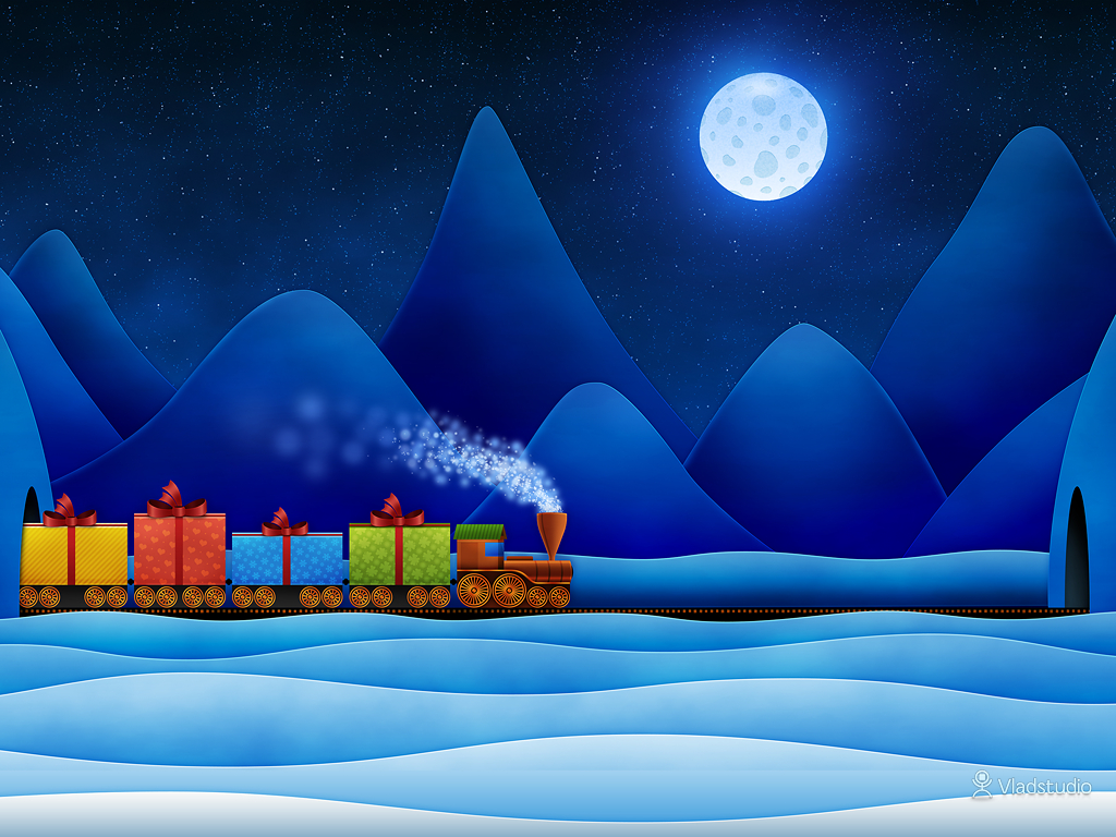 07-vladstudio christmas train 1024x768 signed