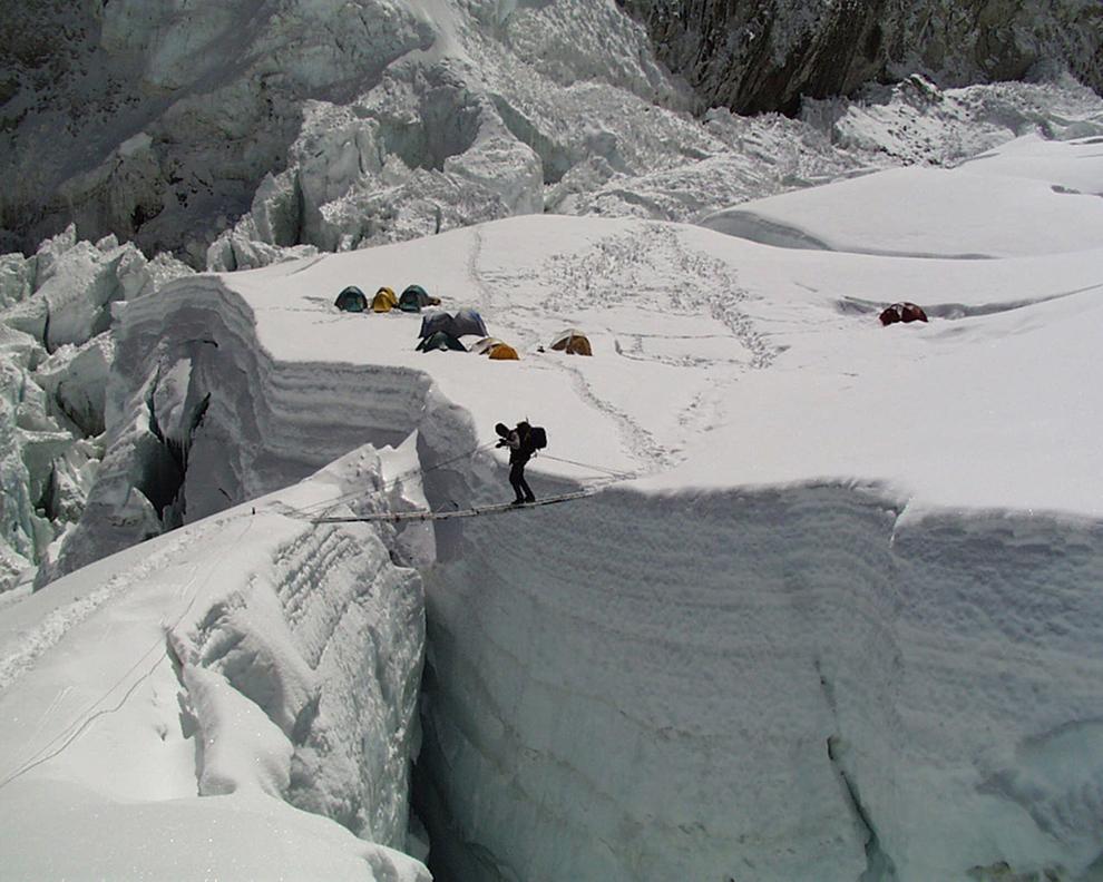 на горе Эверест в Непале,